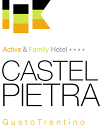 logo footer Active & Family Hotel 4 stelle Castel Pietra - Gusto Trentino